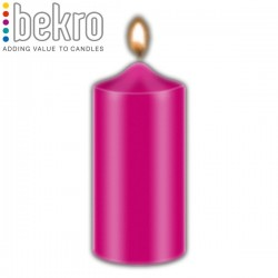 Bekro Candle Color/Dye, Pink