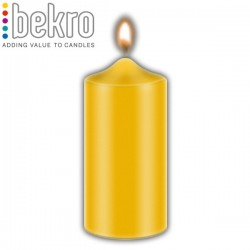 Bekro Candle Color/Dye, Gold Yellow