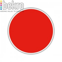 Bekro Candle Color/Dye, Red